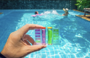 Réglez le pH de votre piscine avec Swimmy !