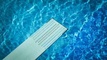 plongeoir de piscine