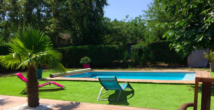 Fêter son anniversaire dans une piscine privée à Bordeaux