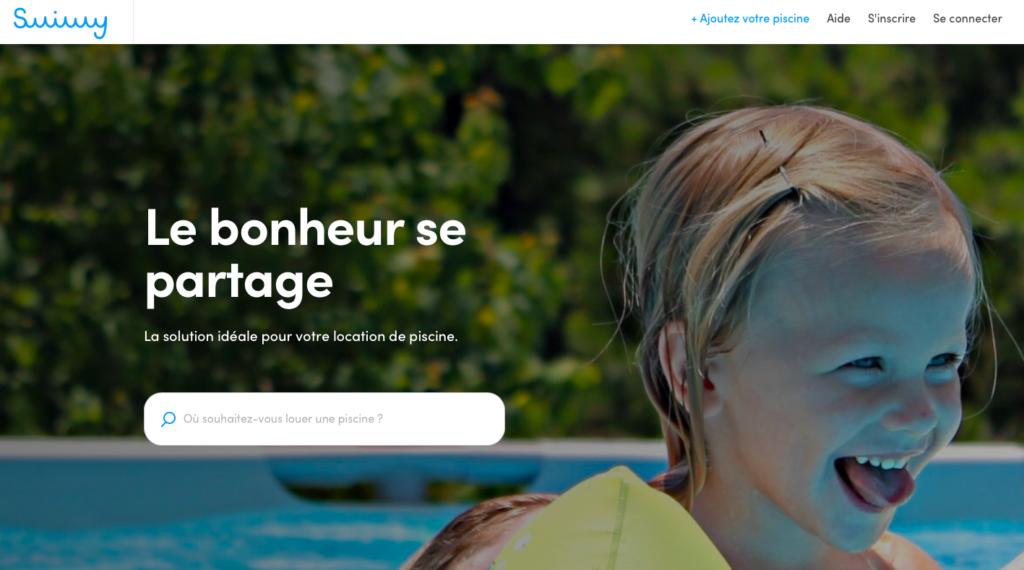 Swimmy, le site de location de piscine entre particuliers
