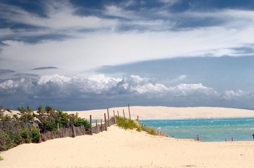 Les plages de Bordeaux : la plage du Cap Ferret