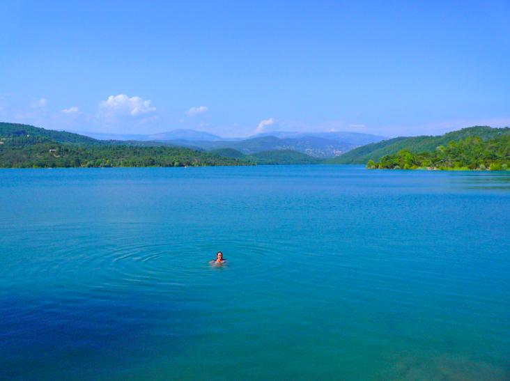 Lac de Saint Cassien à Mandelieu la Napoule