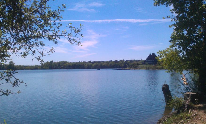 Le lac de Maine à Angers