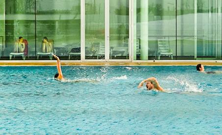 La piscine municipale Aquavita à Angers