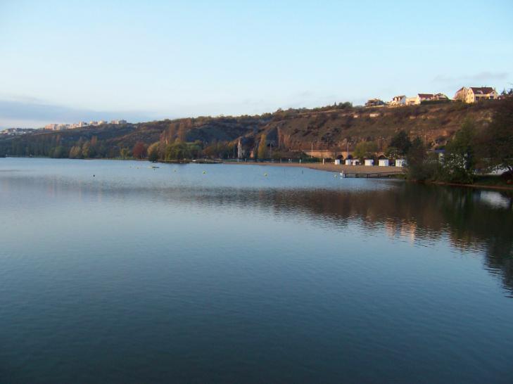 Le lac Kir pour se baigner à Dijon