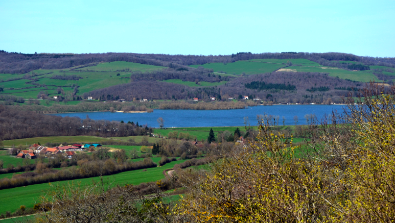 Le lac de Panthier pour se baigner à Dijon