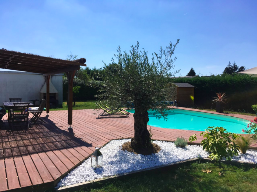La location d'une piscine privée à Angers