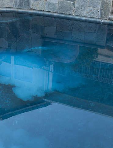 Air provenant de la pompe