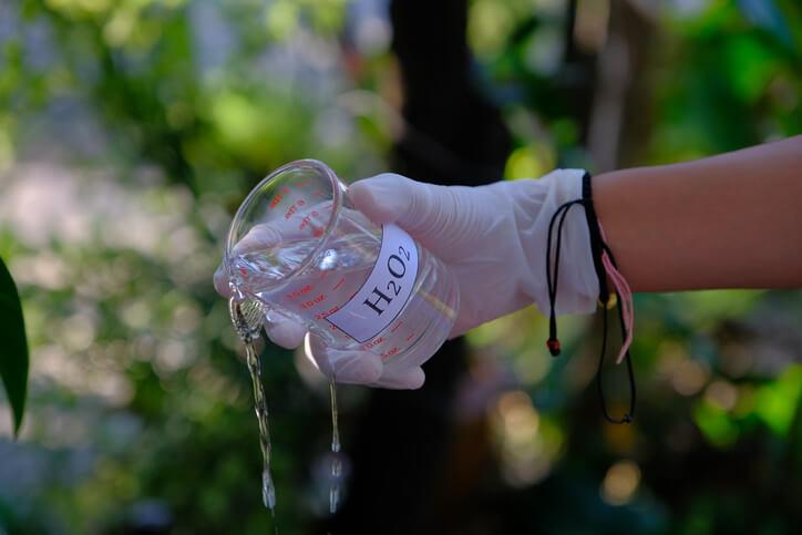 Oxygène actif liquide