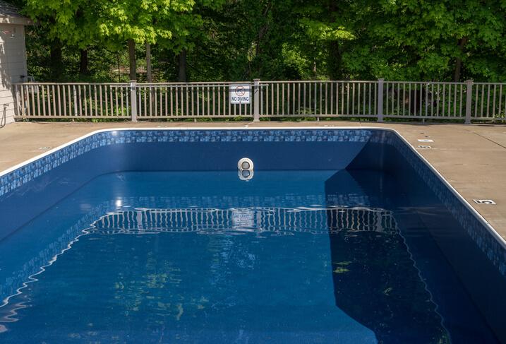 Fuite liner piscine