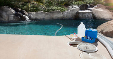 piscine chlorée